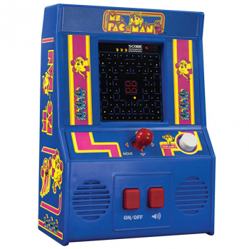 Ms. Pac-Man Retro Arcade Hand Held Game