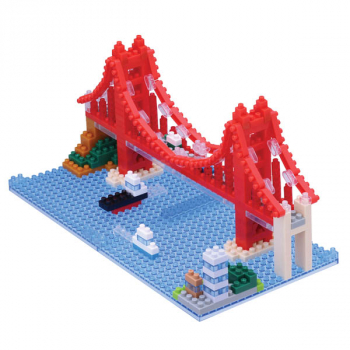 Nanoblock - Golden Gate Bridge