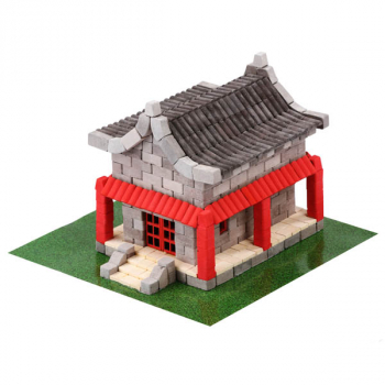 Chinese House 600 Piece Mini Bricks Construction Set