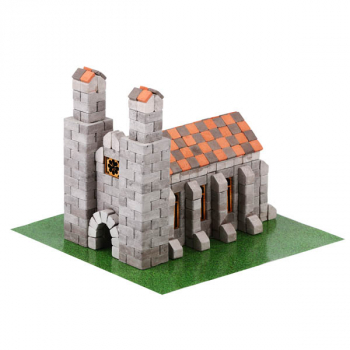 German Church 500 Piece Mini Bricks Construction Set