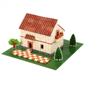 Irish House (Light) 450 Piece Mini Bricks Construction Set