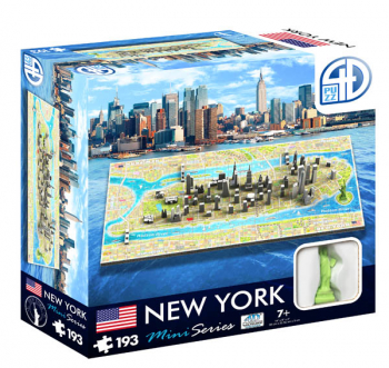 New York Mini 4D Puzzle