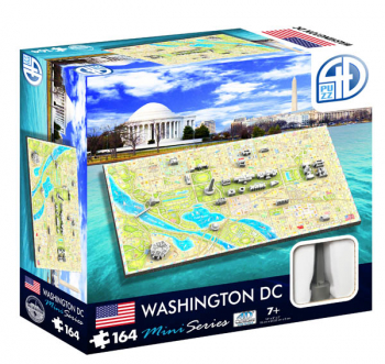 Washington DC Mini 4D Puzzle