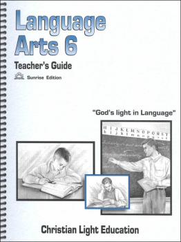 Language Arts 600 Teacher's Guide Sunrise Edition