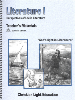 Literature I Teacher's Materials Sunrise Edition