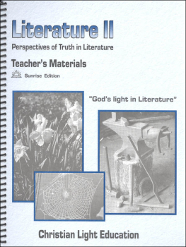 Literature II Teacher's Materials Sunrise Edition