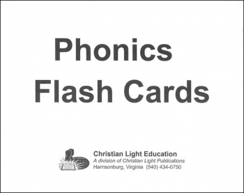 Phonics Flash Cards (5 x 7)