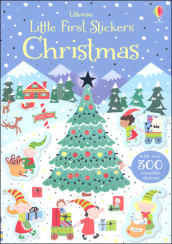 Little First Stickers - Christmas (Usborne)
