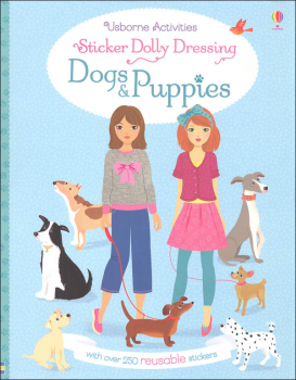 Sticker Dolly Dressing - Dogs & Puppies (Usborne)