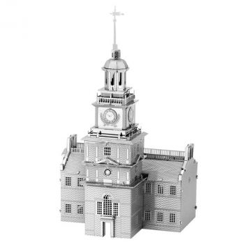 Independence Hall (Metal Earth 3D Model)