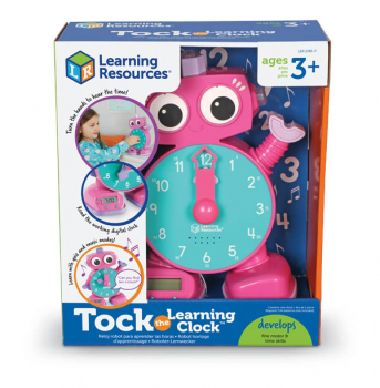 Tock the Learning Clock (Pink)