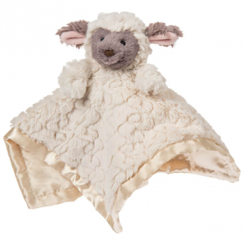 Putty Lamb Character Blanket