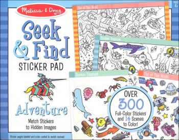 Seek & Find Sticker Pad - Adventure