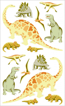 Dinosaurs Stickers (3 sheets)