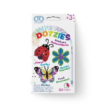 Garden Dotzies Stickers (3 pack)