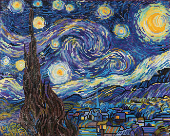 Starry Night (Van Gogh) Diamond Dotz Kit (Intermediate)