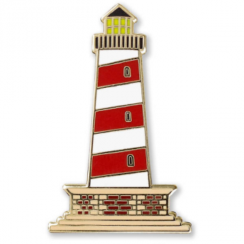 Lighthouse Enamel Pin