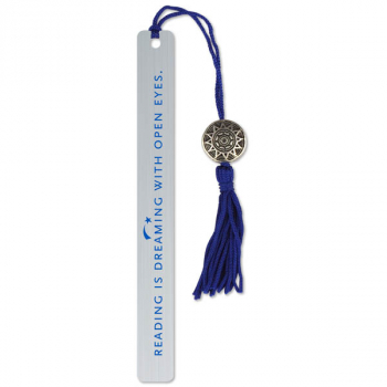 Reading Is Dreaming with Open Eyes Metal Bookmark