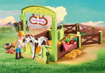 "Horse Box ""Abigail & Boomerang (Spirit - Riding Free)"