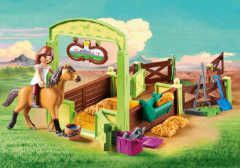 "Horse Box ""Lucky & Spirit"" (Spirit - Riding Free)"