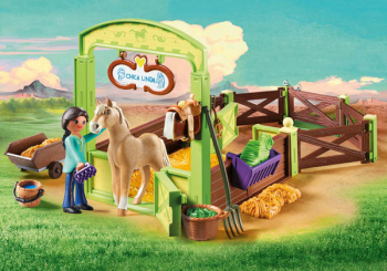 "Horse Box ""Pru & Chica Linda"" (Spirit - Riding Free)"