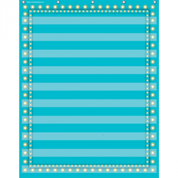 10 Pocket Organizer - Light Blue Marquee