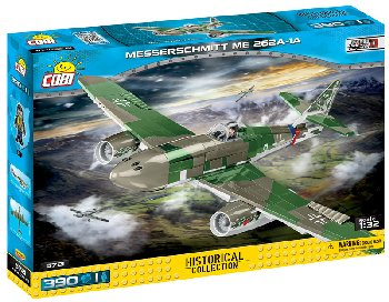 Messerschmitt Me 262A Schwalbe - 315 pieces (Small Army II World War Planes)