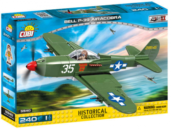 P39 Aircobra - 231 pieces (Small Army II WW Planes)