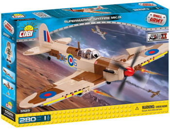 Supermarine Spitfire MK. IX - 280 pieces (Small Army II World War Planes)