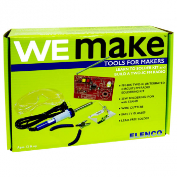 WeMake FM Radio Soldering Kit with Tools