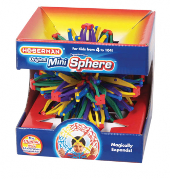 Mini Hoberman Rainbow Sphere