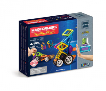 Magformers - Sensor Block 47 Piece Set