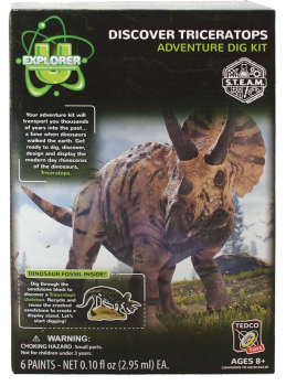 Discover Triceratops - Adventure Dig Kit