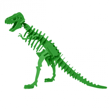 Larry the Tyrannosaurus Rex 3D Puzzle - Green