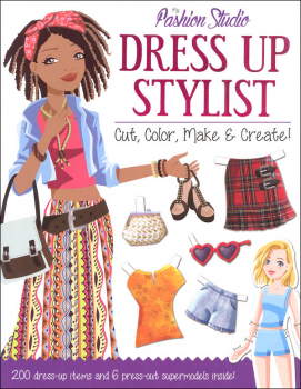 Dress Up Stylist Activity Book (Fashion Studio)