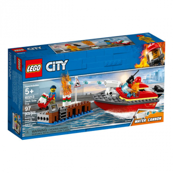 LEGO City Fire Dock Side Fire (60213)