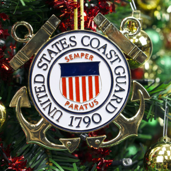 Heroes Series Ornament - Coast Guard