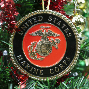 Heroes Series Ornament - Marine Corps