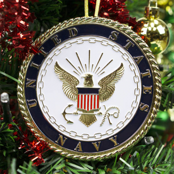 Heroes Series Ornament - Navy