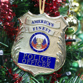 Heroes Series Ornament - Police