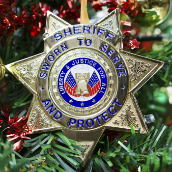 Heroes Series Ornament - Sheriff