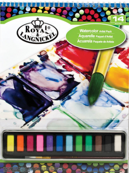 Watercolor Cake Pad Set