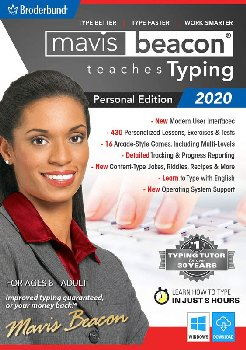 Mavis Beacon Teaches Typing Powered by Ultrakey Personal Edition - Download - Windows