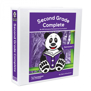 Second Grade Complete: Semester One - Additional Student Workbook
