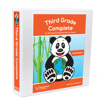 Third Grade Complete: Semester One - Additional Student Workbook