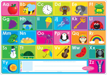 ABC/Numbers 1-20 Smart Poly Learning Mat