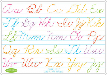 Cursive Smart Poly Learning Mat