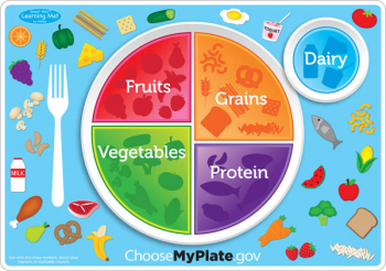 MyPlate.gov Smart Poly Learning Mat