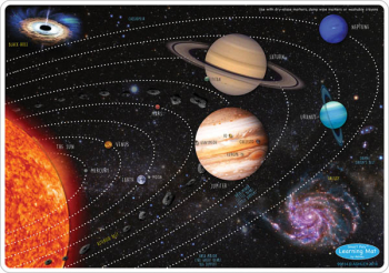 Solar System Smart Poly Learning Mat