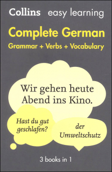 Complete German Grammar Verbs Vocabulary (Collins Easy Learning)